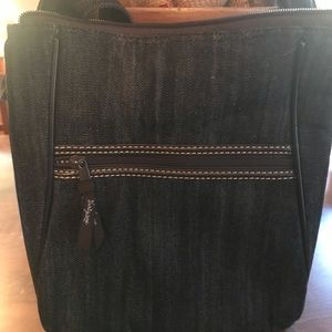 THIRTY-ONE CROSSBODY (Jean material). Never used
